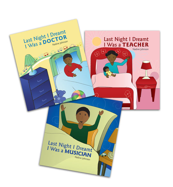 Last Night I Dreamt Picture Book Set of 3