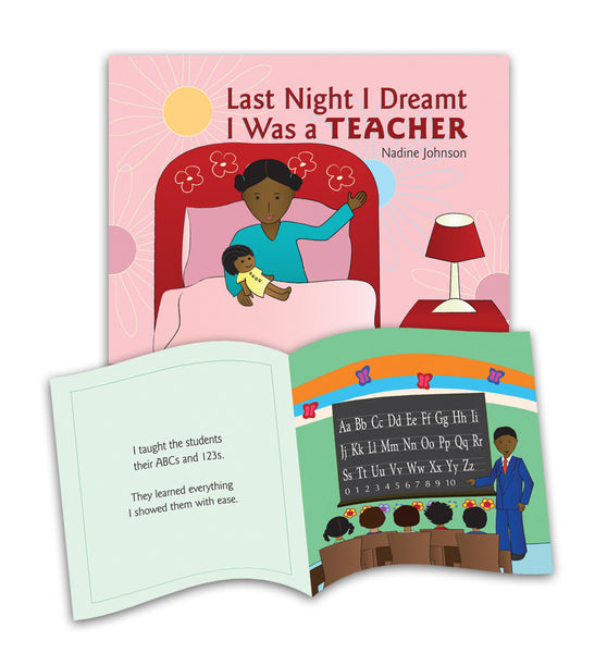 Last Night I Dreamt I Was a Teacher Picture Book