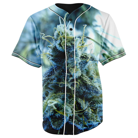 Super Blue Dream Button Up Baseball Jersey - JAKKOU††HEBXX