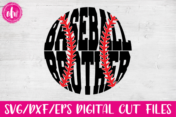 Baseball Brother - SVG, DXF, EPS