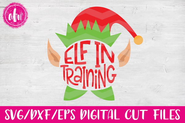 Elf in Training - SVG, DXF, EPS