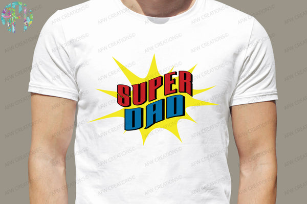 Super Dad - SVG, DXF, EPS