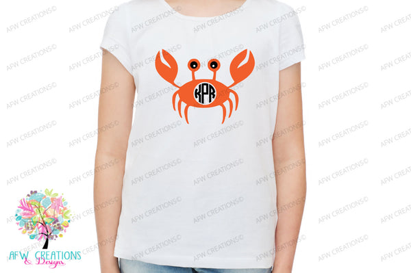 Sea Life Monogram Frames - SVG, DXF, EPS
