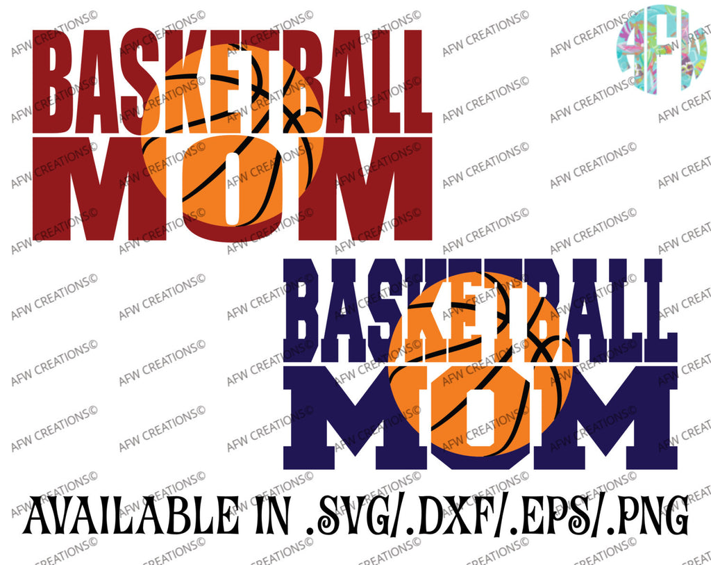 Basketball Mom Set - SVG, DXF, EPS