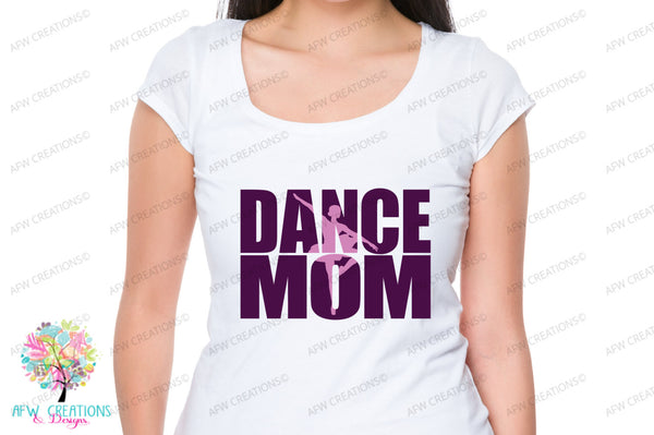 Dance Mom #1 - SVG, DXF, EPS