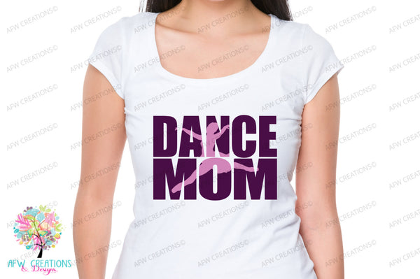 Dance Mom #2 - SVG, DXF, EPS