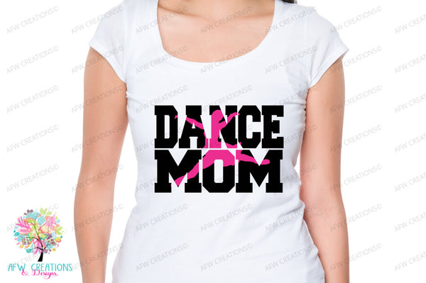 Dance Mom #3 - SVG, DXF, EPS
