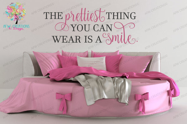 Prettiest Thing You Can Wear - SVG, DXF, EPS