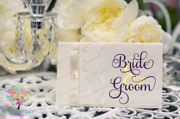 Bride & Groom - SVG, DXF, EPS