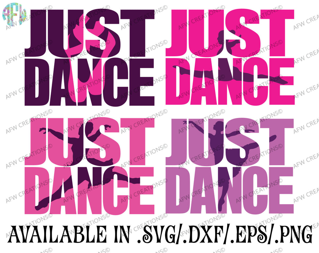 Just Dance Bundle - SVG, DXF, EPS