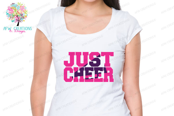 Just Cheer Bundle - SVG, DXF, EPS