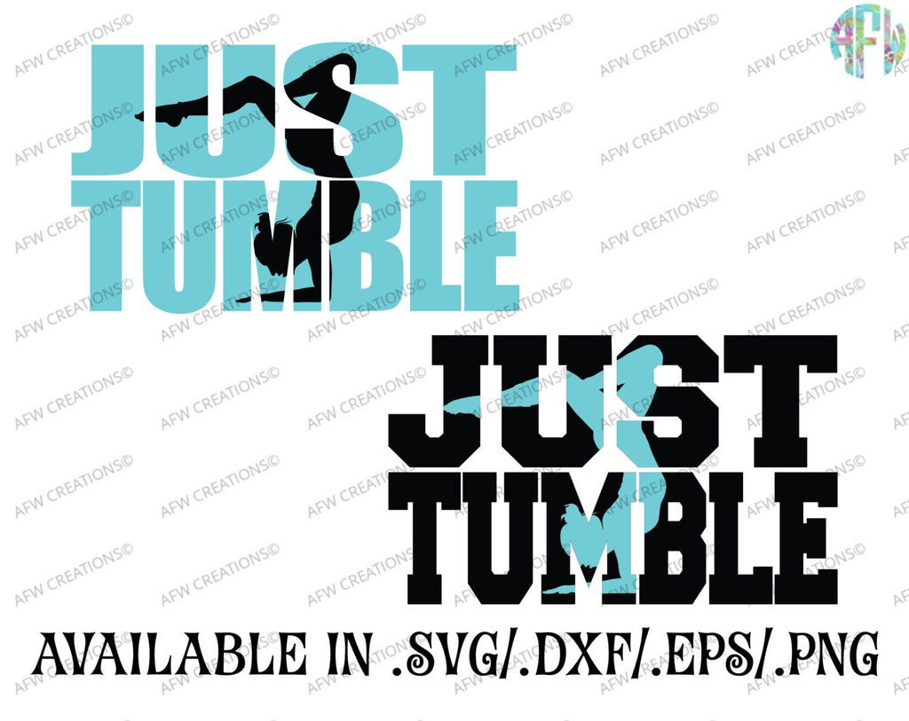 Just Tumble - SVG, DXF, EPS