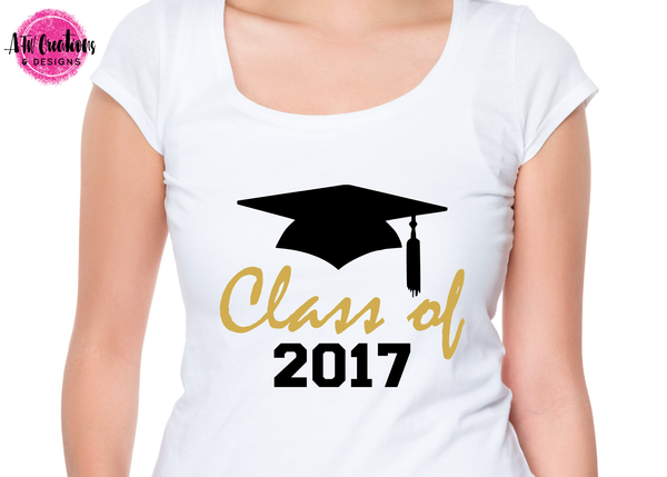 Graduation Class of 2017 - SVG, DXF, EPS
