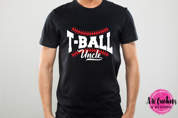 T-Ball Uncle - SVG, DXF, EPS