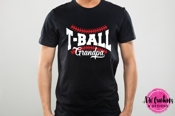 T-Ball Grandpa - SVG, DXF, EPS