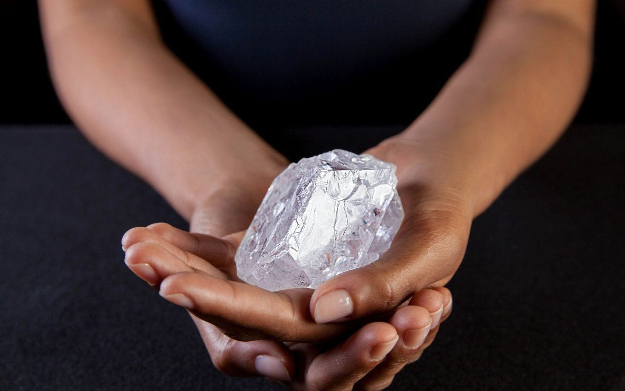 Lesedi La Rona rough diamond fails to sell at auction