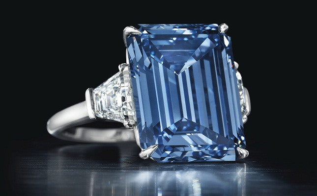 Record Price for Blue Diamond