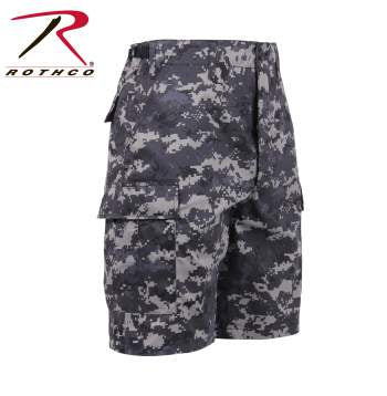 Rothco BDU Shorts Subdued Urban Digital Camo