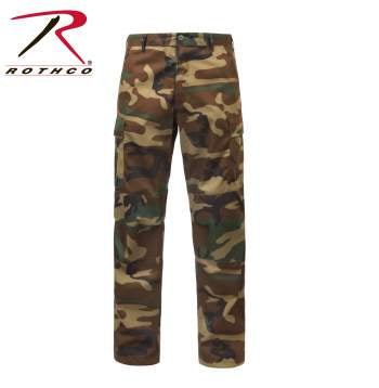 Rothco Zipper Fly BDU Pants Camo