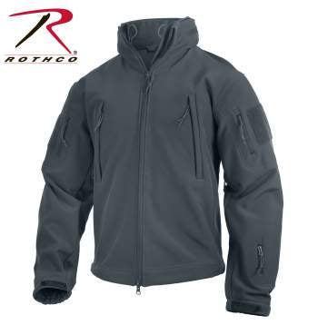 Rothco Special Ops Soft Shell Jacket Gun Metal Grey