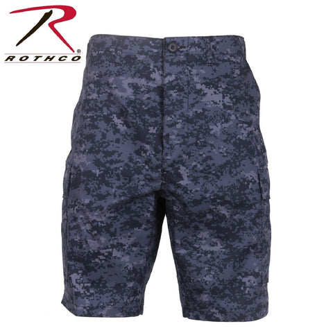 Rothco BDU Shorts Midnight Blue Digital