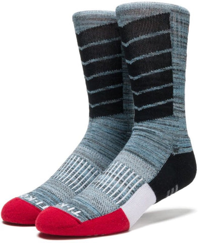 Huf Performance Crew Sock Black