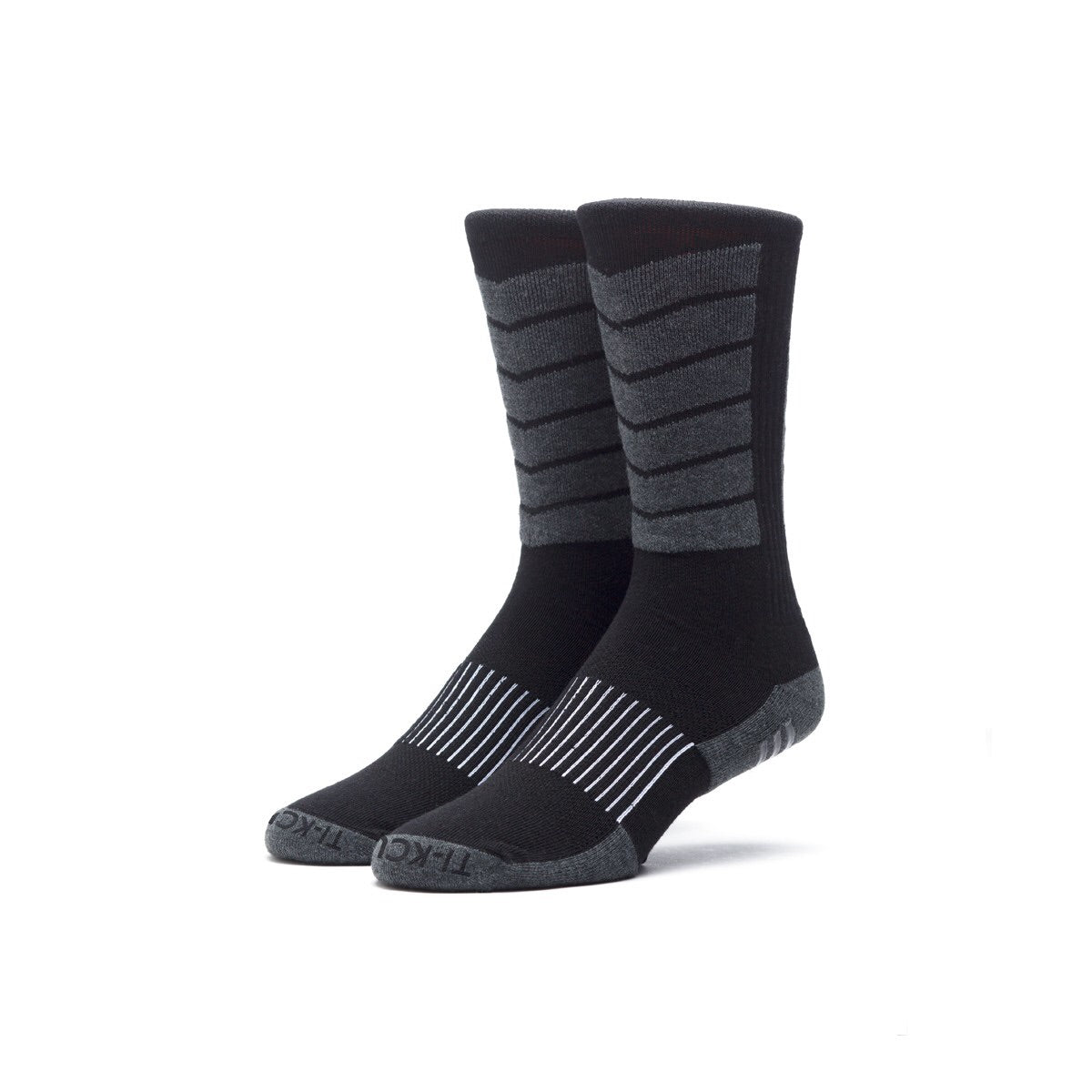 Huf Performance Plus Crew Sock Black/Charcoal