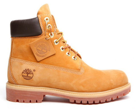 "Timberland Icon 6"" Premium Boot Wheat Nubuck"