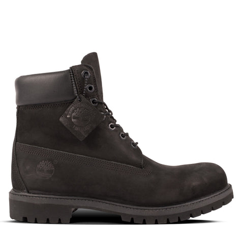 "Timberland Icon 6"" Premium Boot Black Nubuck"