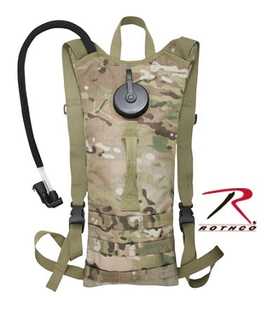 Rothco Backstrap Hydration System Multicam