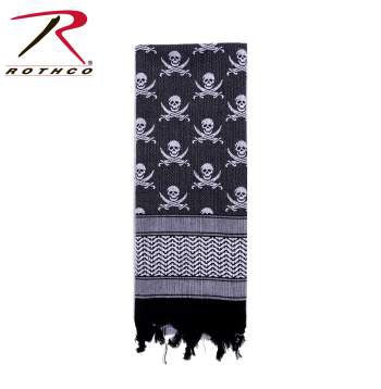 Rothco Skulls Shemagh Tactical Scarf