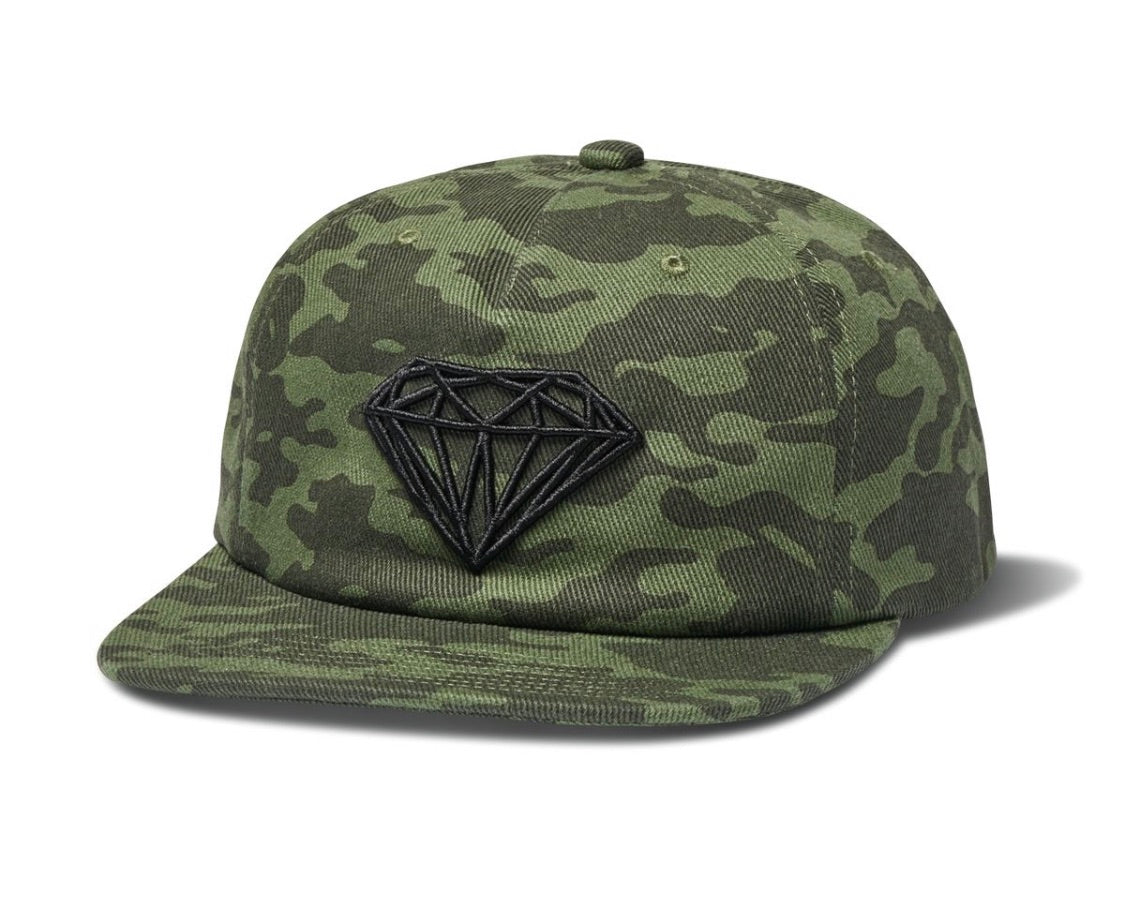 Diamond Supply Brilliant Camo Unstructured Snapback