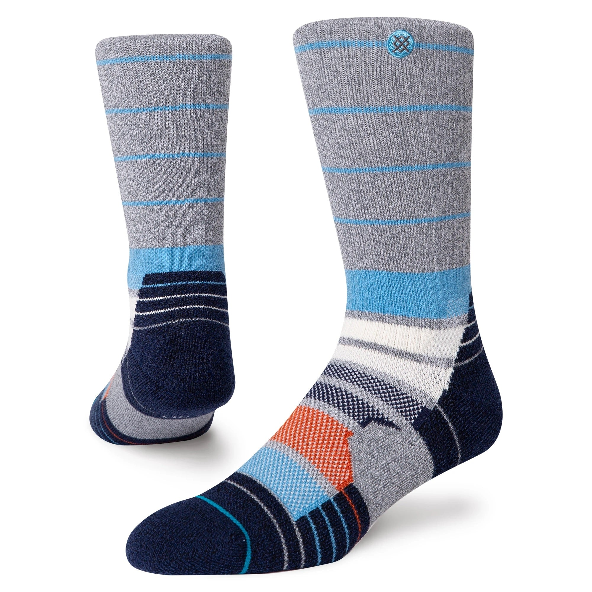 Stance Narrows Crew Sock Adventure Infiknit