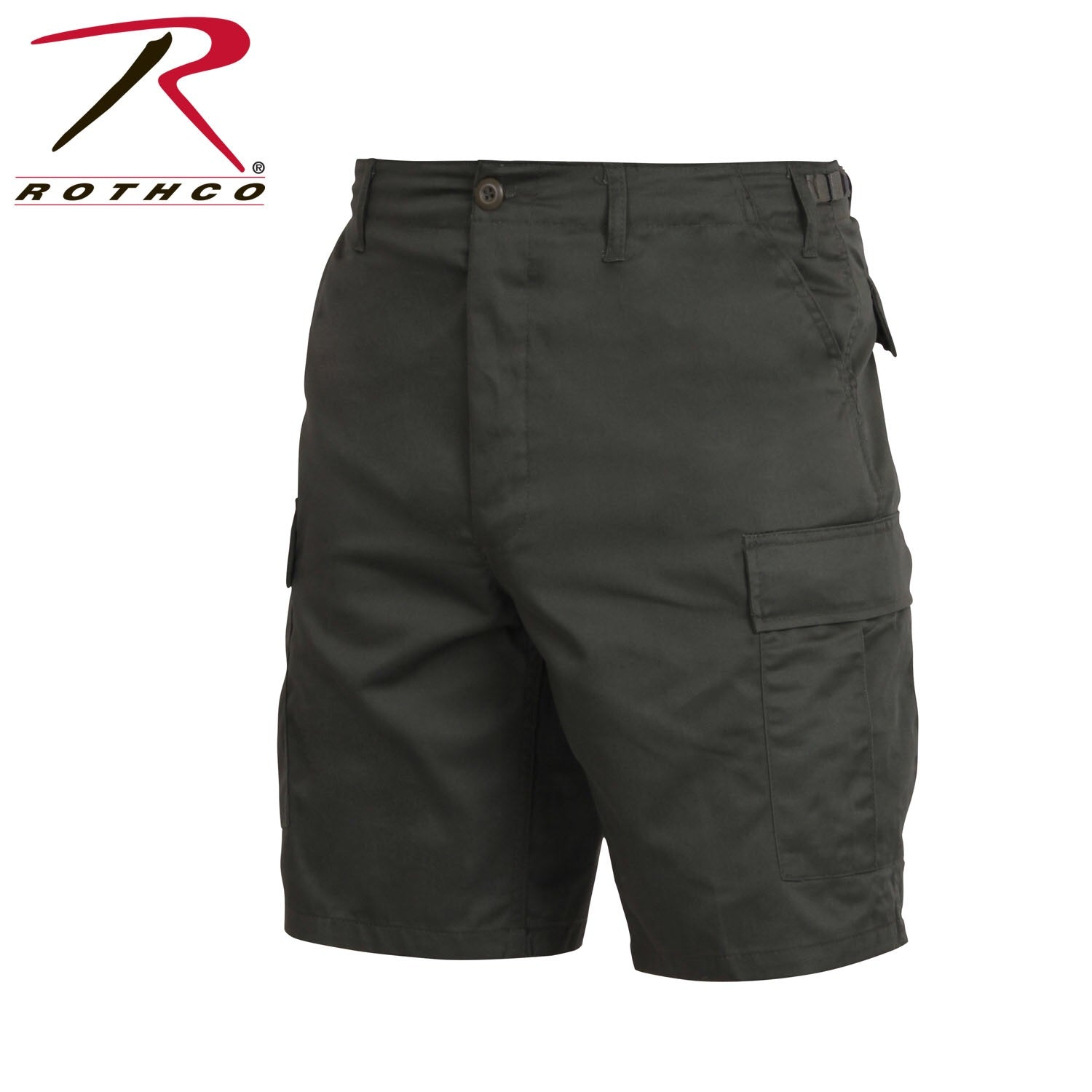 Rothco BDU Shorts Black Zipper