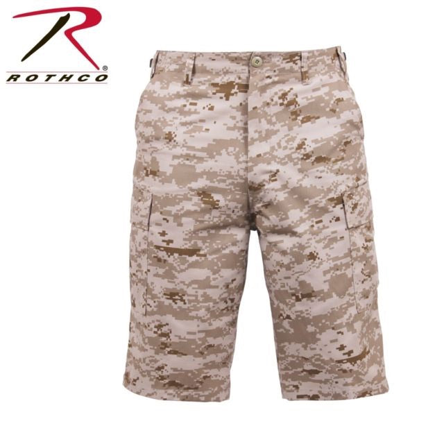 Rothco Long BDU Shorts Desert Digital Camo