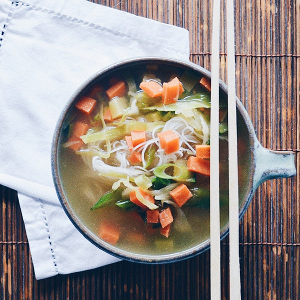 Miso and Vegetable Soup