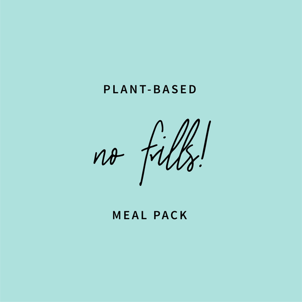 'Just Meals' Plant Based Meal Pack