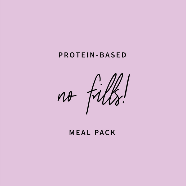 'Just Meals' Protein Based Meal Pack