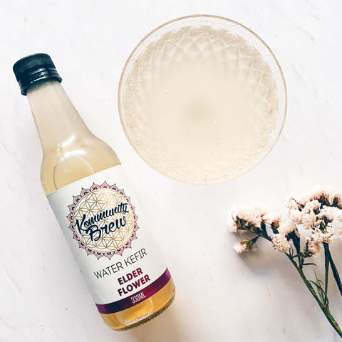 Elderflower Water Kefir