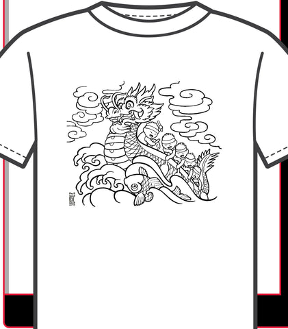 Youth Colouring Tee