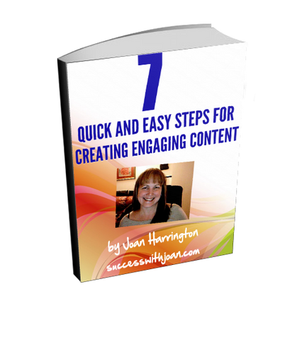 7 Quick & Easy Steps For Creating Engaging Content Ebook