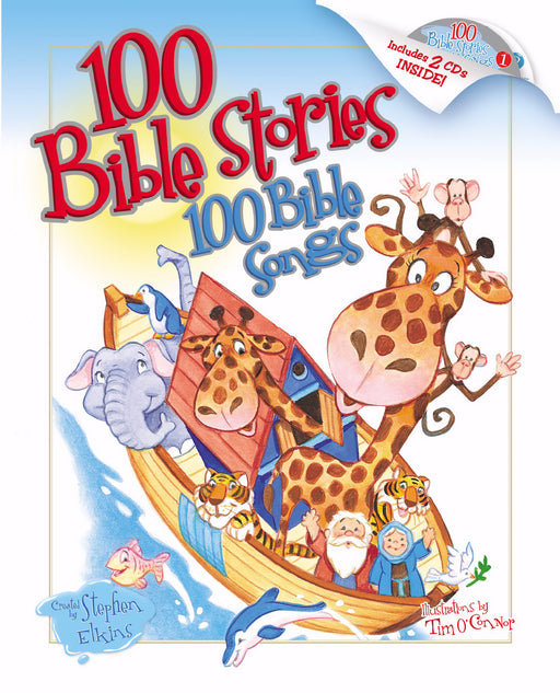 100 Bible Stories 100 Bible Songs w/2 CD
