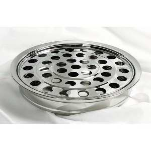 RemembranceWare SilverTone Tray & Disc (Stainless Steel)