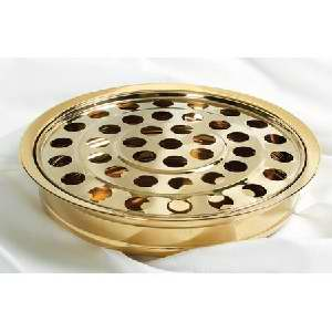 RemembranceWare BrassTone Tray And Disc (Stainless Steel)