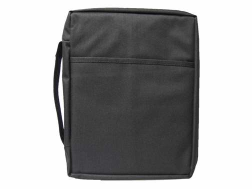 Bible Cover-Basic Bible Case-Large-Black
