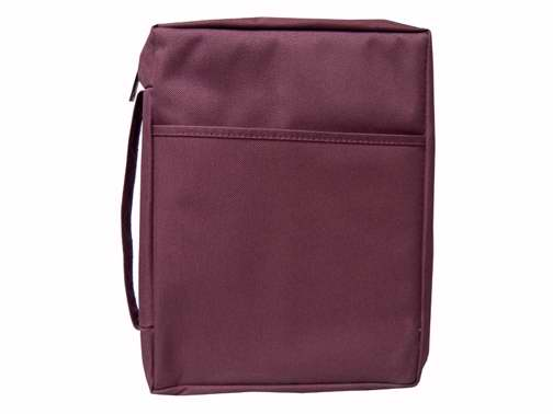 Bible Cover-Basic Bible Case-Small-Burgundy