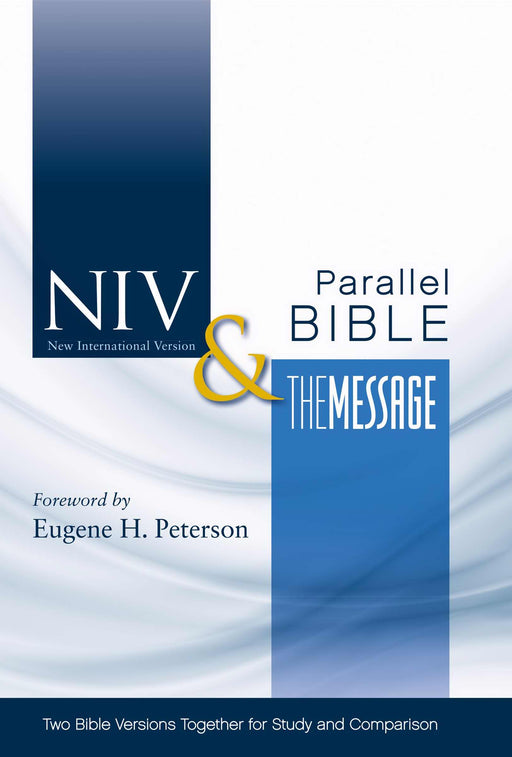 NIV & Message Side-By-Side Bible-Hardcover