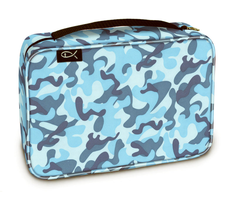 Bible Cover-Basic-Sky Camo-Medium
