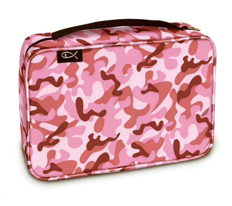 Bible Cover-Basic-Bubblegum Camo-Medium