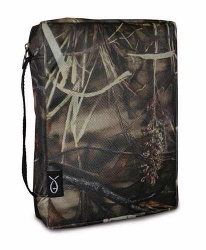 Bible Cover-Marsh Grass Camo-X Large